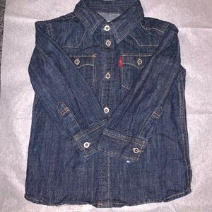 Levi's toddler boy jean long sleeve shirt